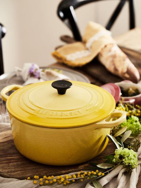 pentola giallo limone
