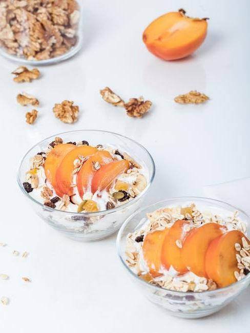 Yogurt greco con frutta