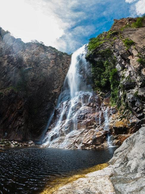 cascata in brasile