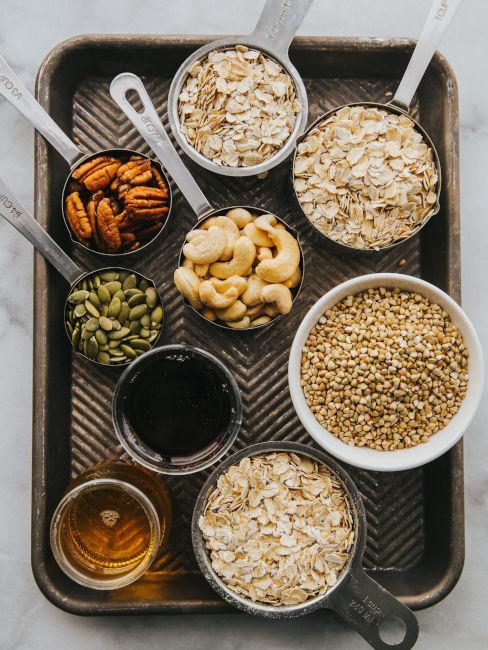fonti proteiche e cereali senza glutine