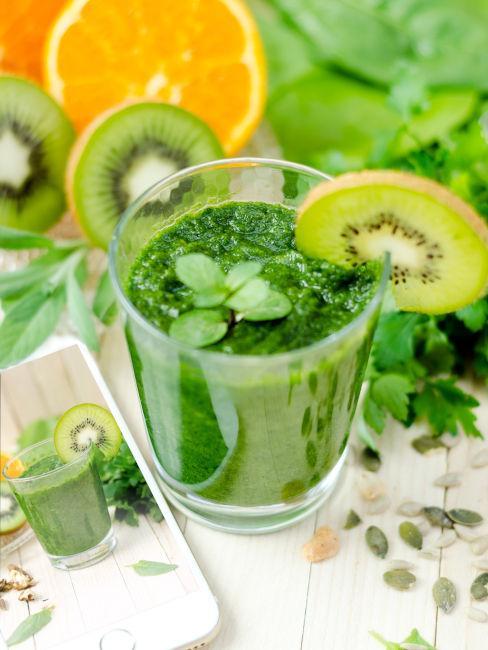 bevanda a base di kiwi
