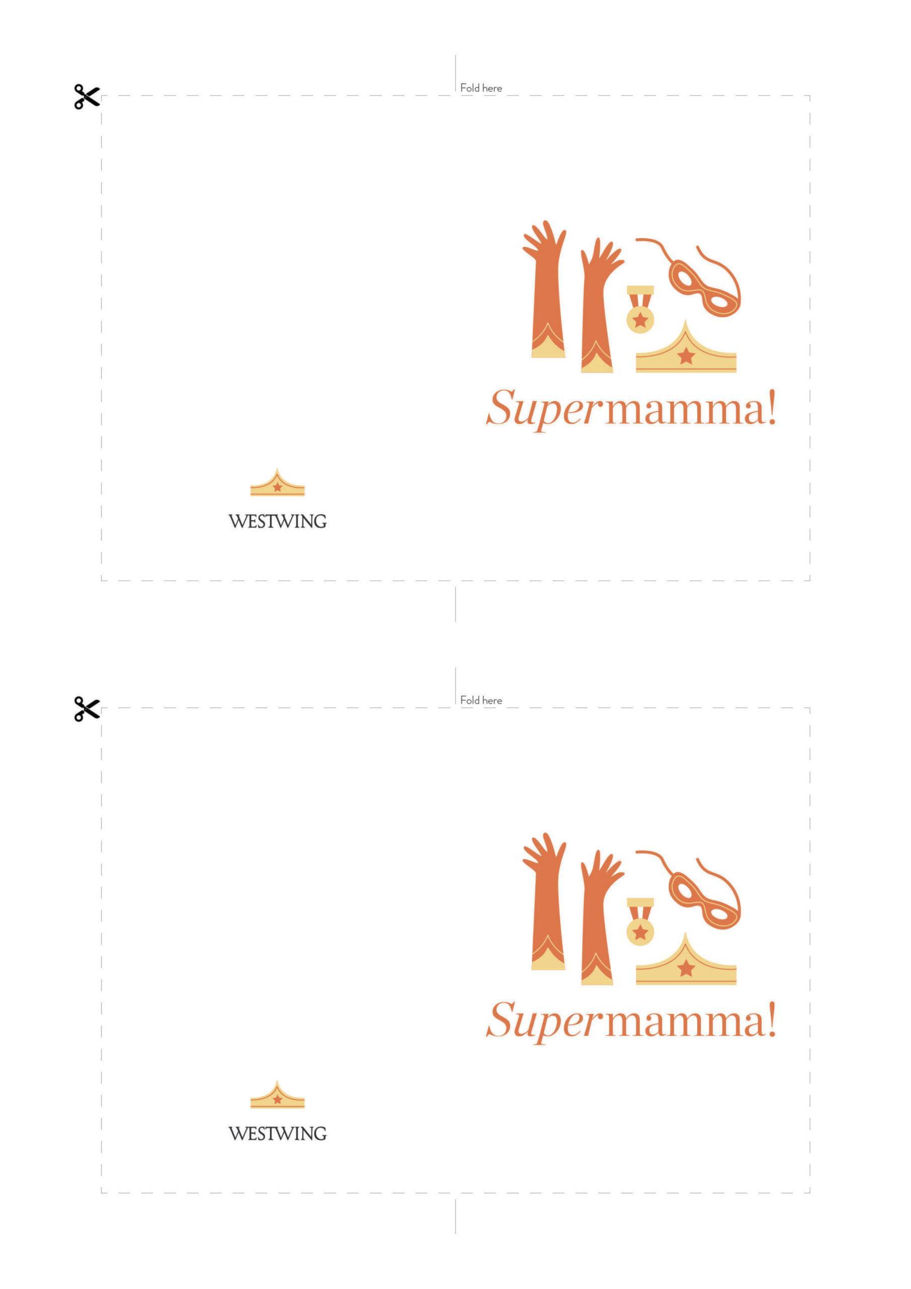 Biglietto supermamma