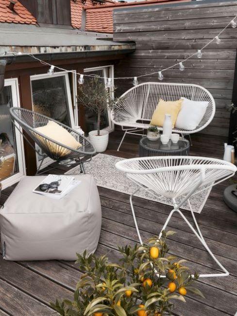 mobili da esterno e decorazioni