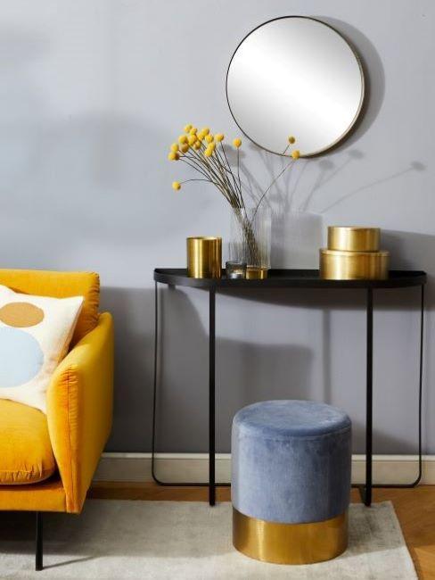 abbinamento colori pareti grigio chiaro