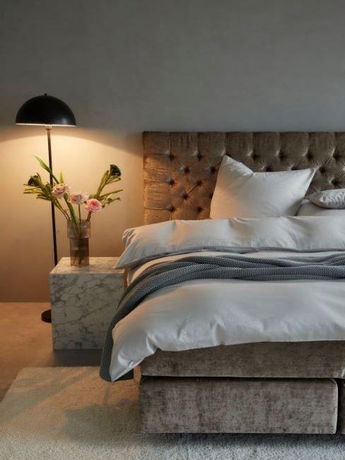 colori pareti cmera da letto grigio