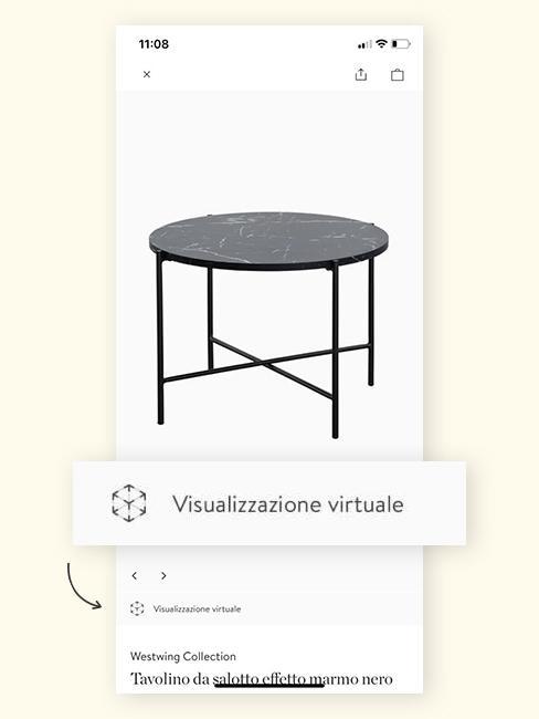 AR tavolino