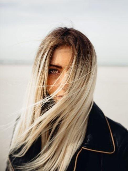 capelli secchi biondi