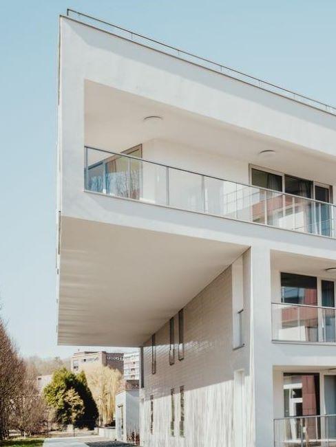 abbinamenti facciata casa moderna