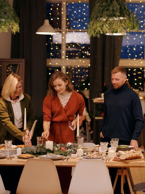 organizzazione cena di natale