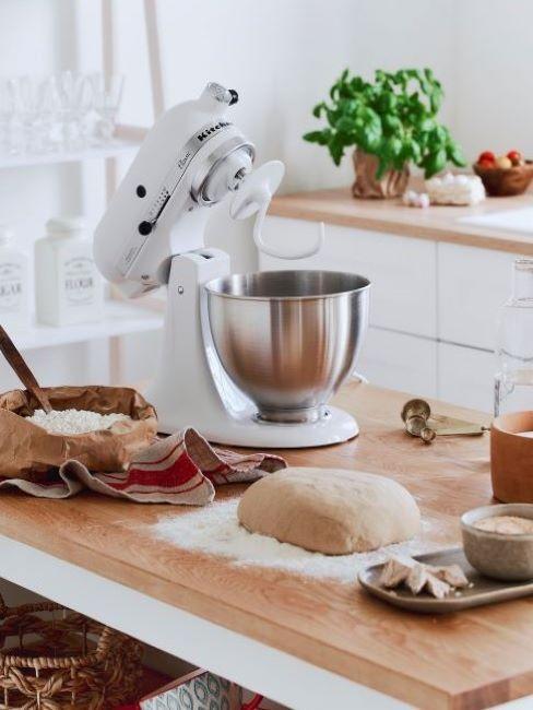 pane con planetaria kitchenaid