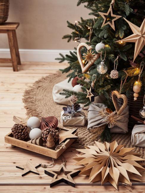 decorazioni albero di natale fai da te