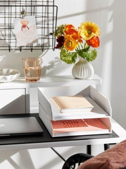 organizzare scrivania