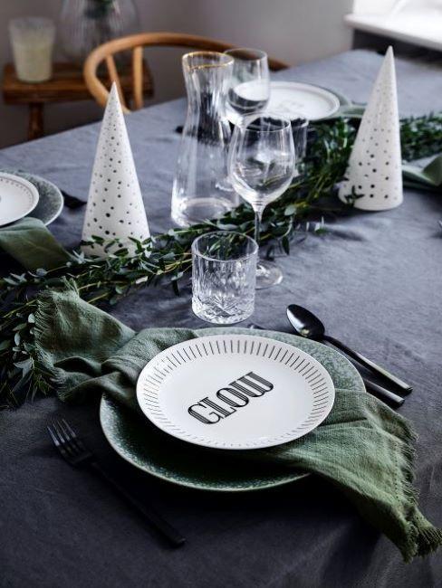 festa di natale tavola