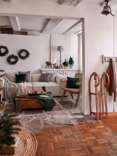 festa cozy in casa