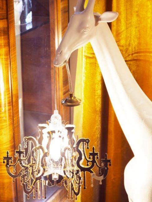 lampada giraffa