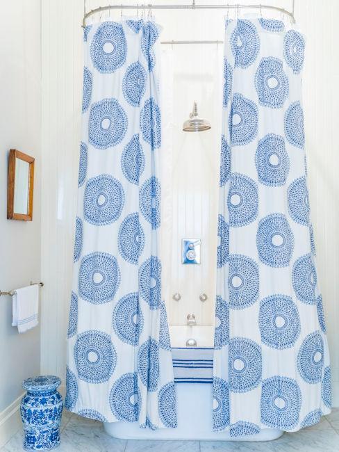 Tenda da doccia decorativa