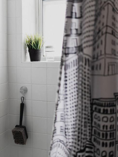 Tenda da doccia decorata