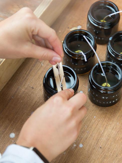 Come fabbricare candele fai da te