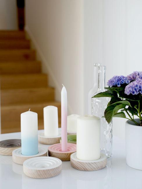 Idee per candele fatte in casa