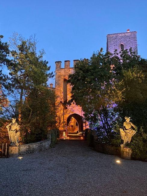 Castelli per matrimoni: il Castello di Gropparello