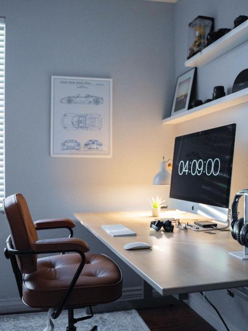 Consigli per l'arredamento dello studio in casa