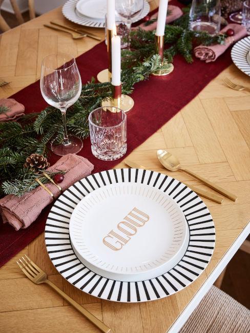 Piattini da dessert natalizi Westwing Collection