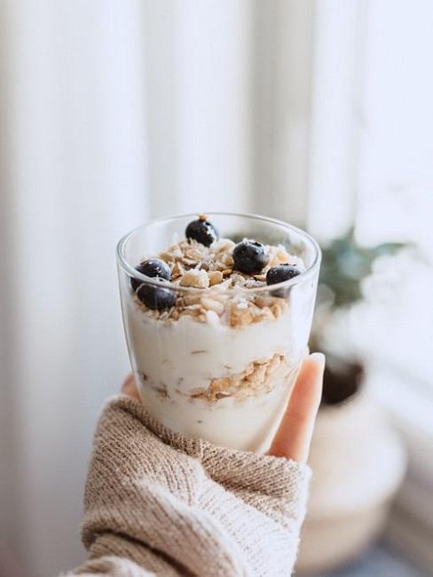 Vitamina D alimenti: yogurt