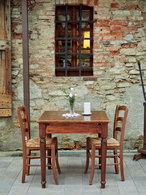 Tavolino per due persone