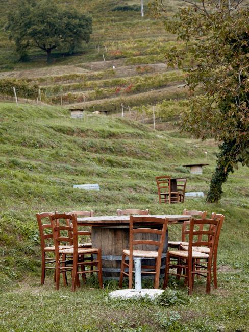 Tavoli all'aperto Agriturismo La Costa