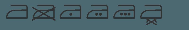 Simboli stiratura