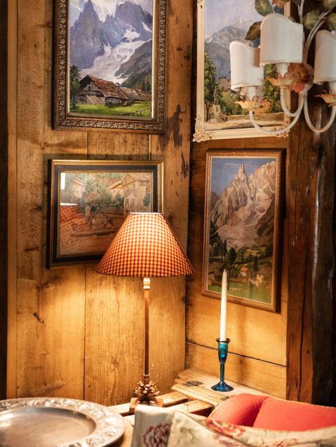 Stile baita di montagna