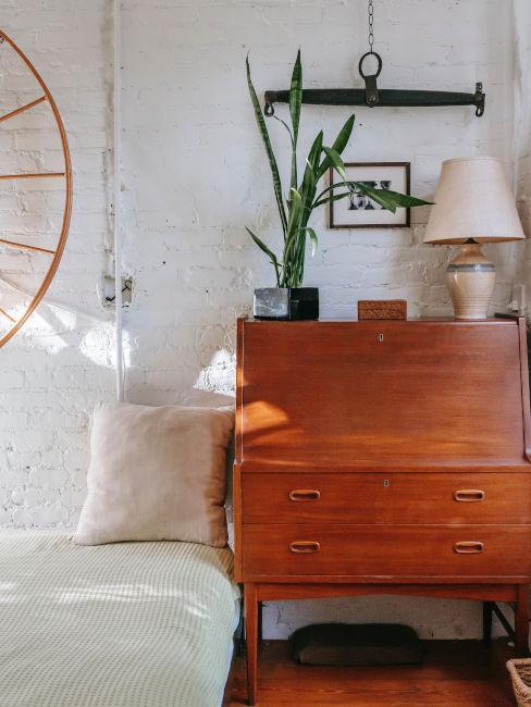 Arredare una camera da letto vintage