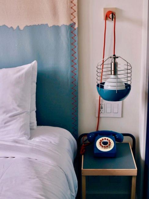 Camera da letto vintage