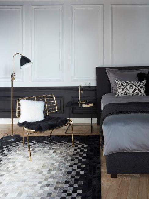 Idee per una camera da letto nera