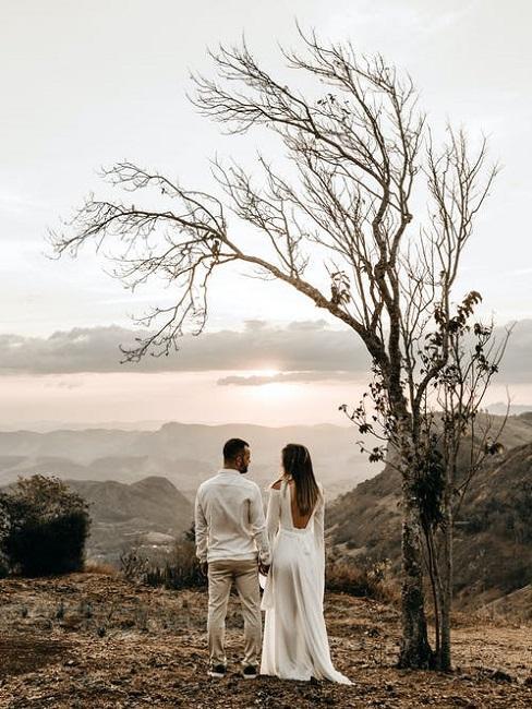 Matrimonio civile all'aperto