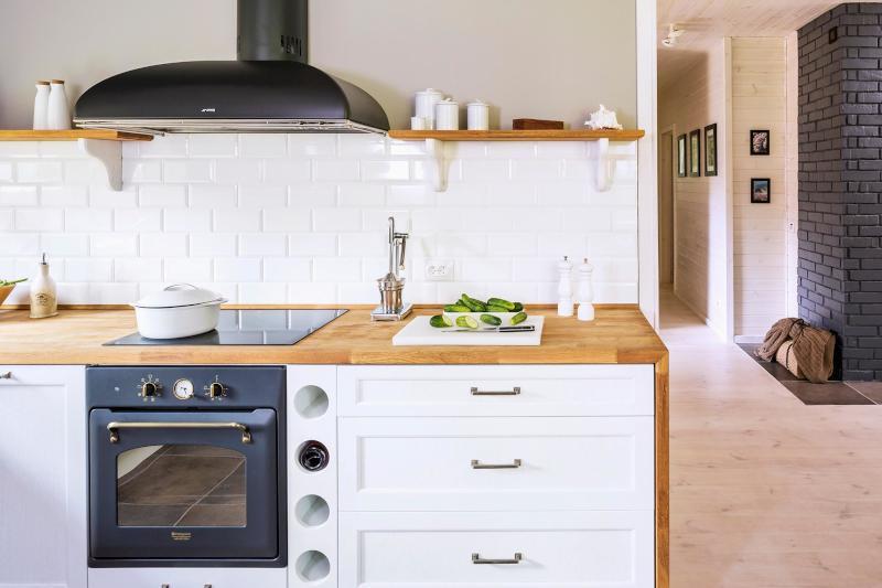 Cucina in legno di noce