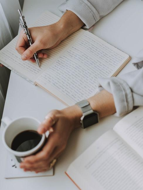 come gestire l'ansia scrivere