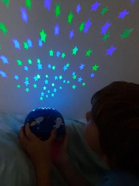luce led con stelle per cameretta