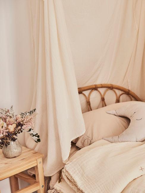 letto cameretta in stile rustico