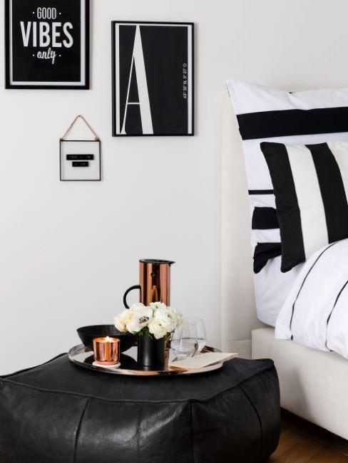 camera da letto nera