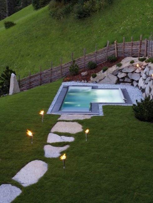 san lorenzo mountain lodge piscina
