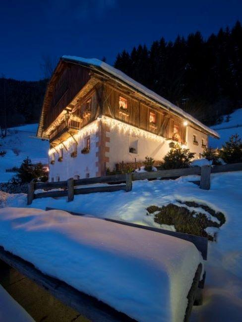 san lorenzo mountain lodge inverno