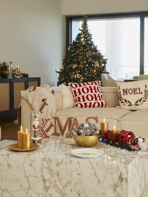 Natale a casa di Beatrice Valli