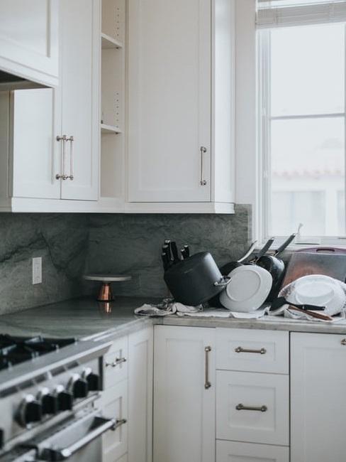 Rivestimenti cucina: marmo