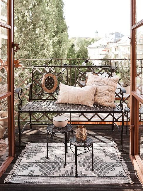 Arredare balcone piccolo