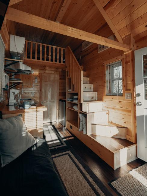 Vivere in una mini casa