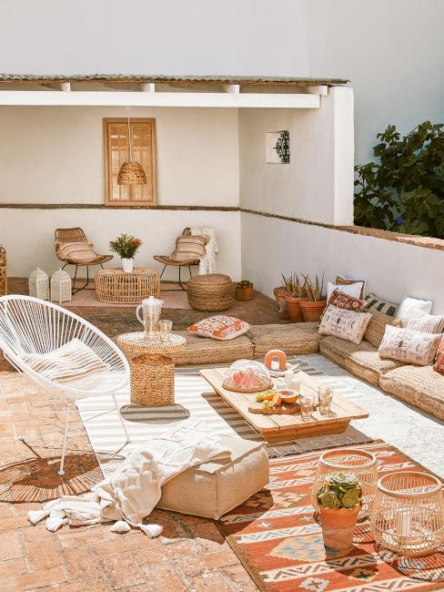 Terrazzo stile mediterraneo