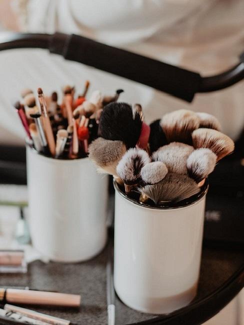 come pulire pennelli trucco