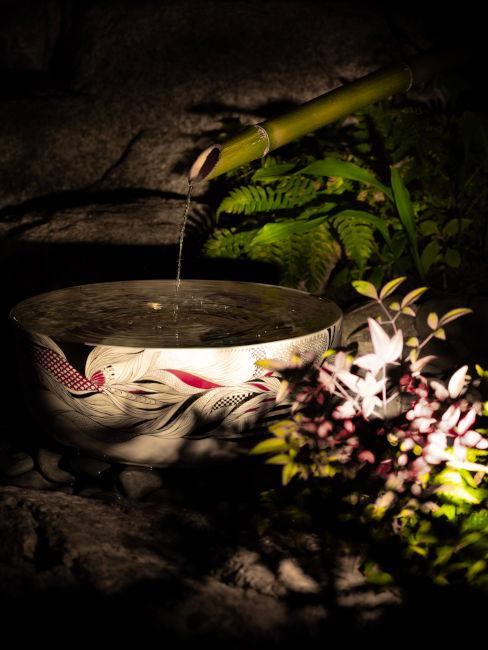 Giardino in stile zen