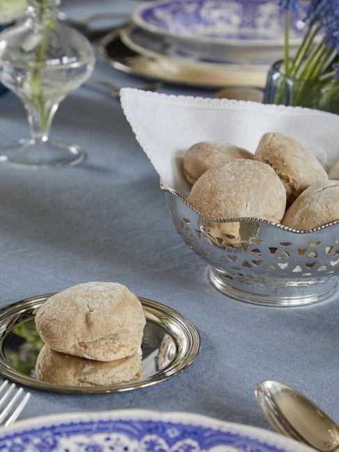 Piattino da pane in argento